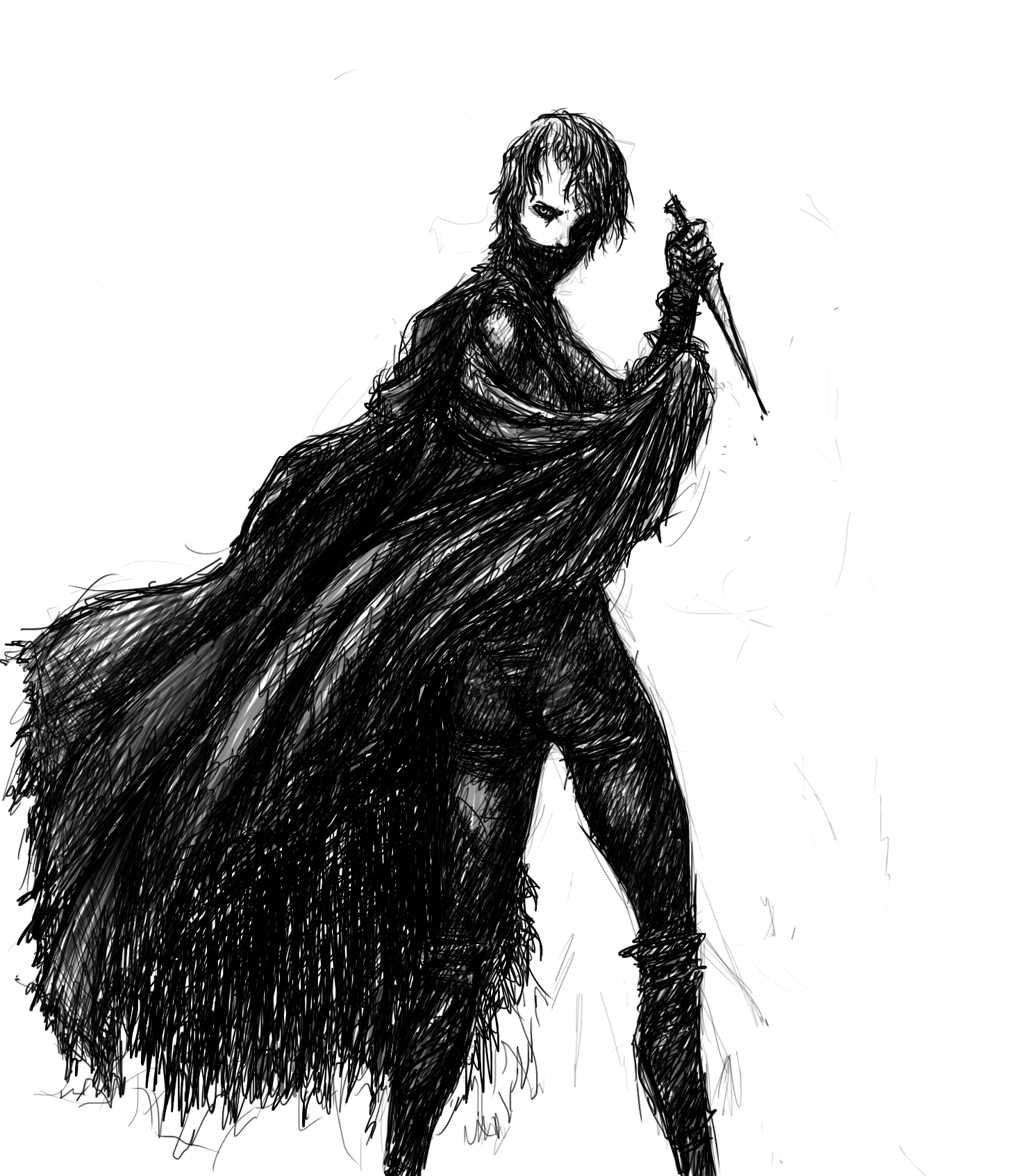 Cloaked Assailant