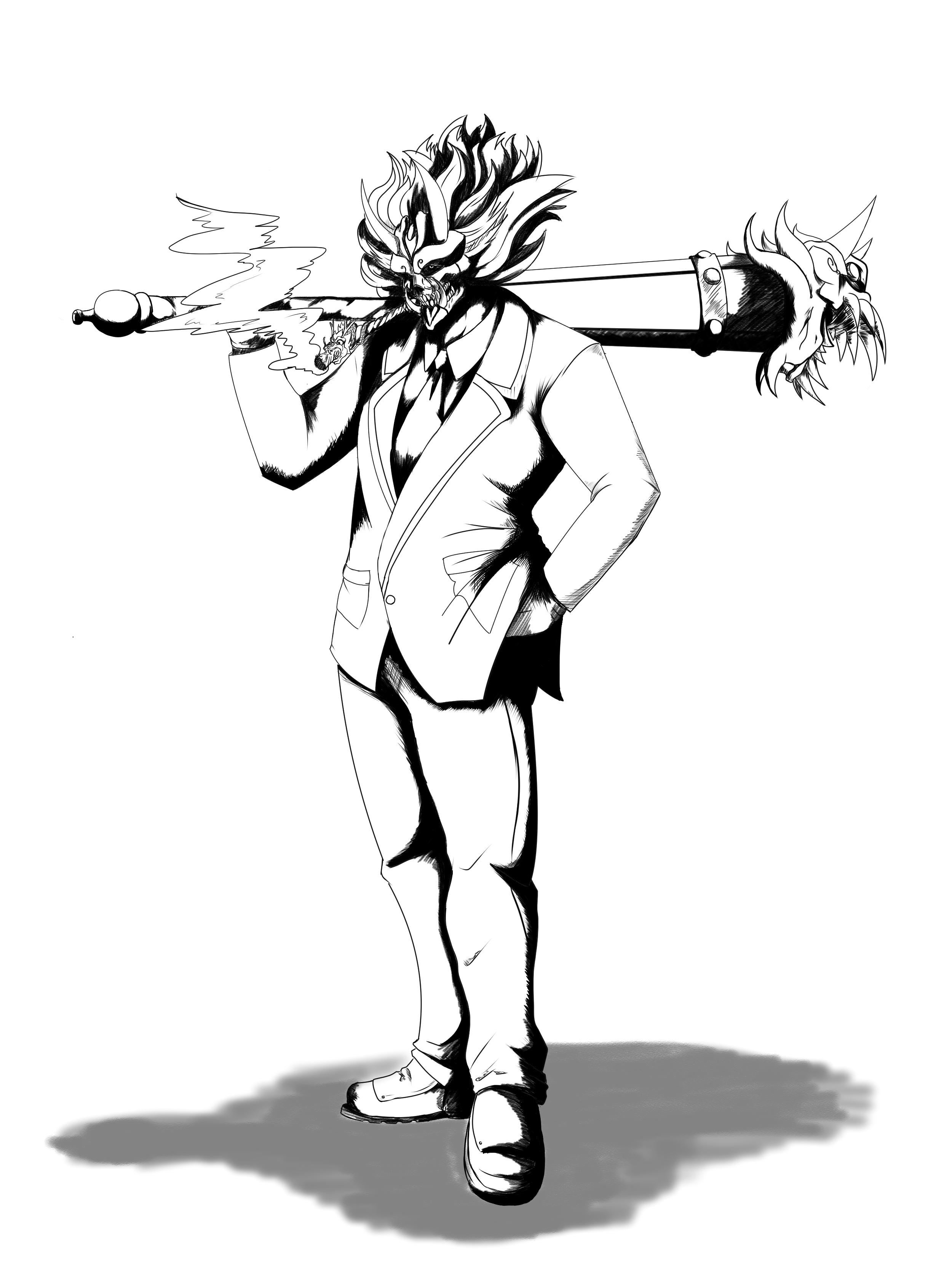 Manly demi god of weed: deadman god mode