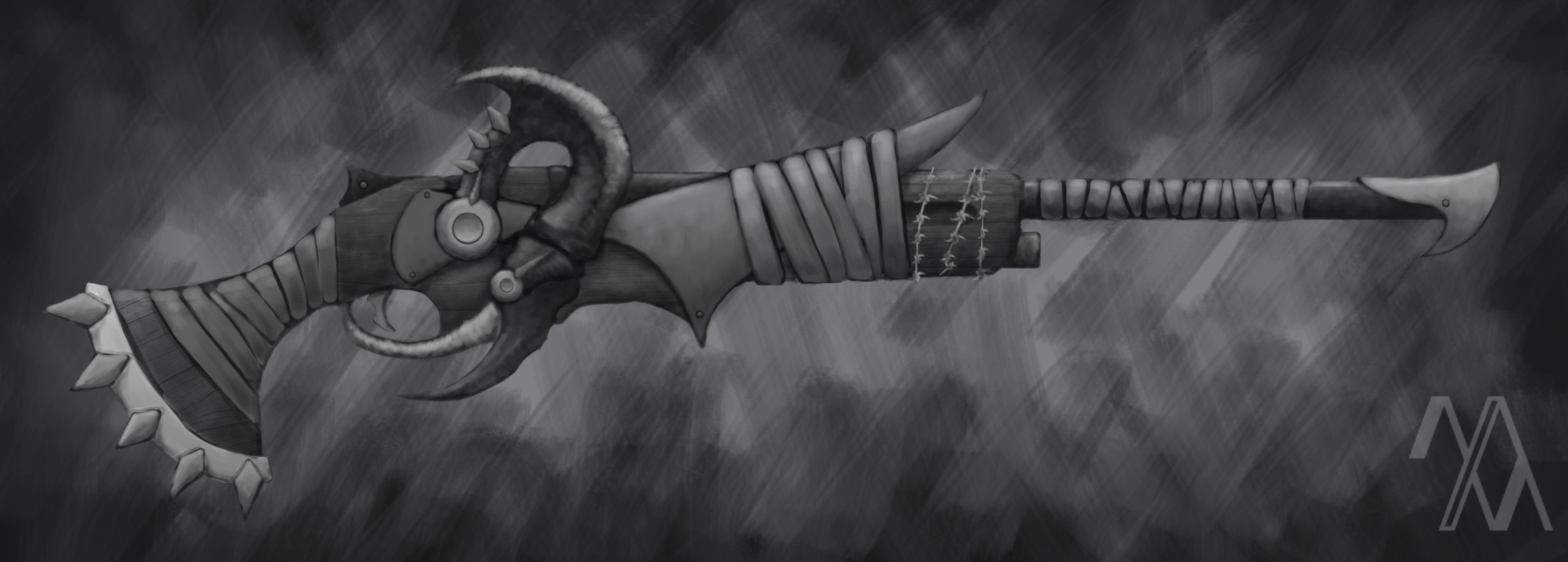 Bloodborne Inspired Gun