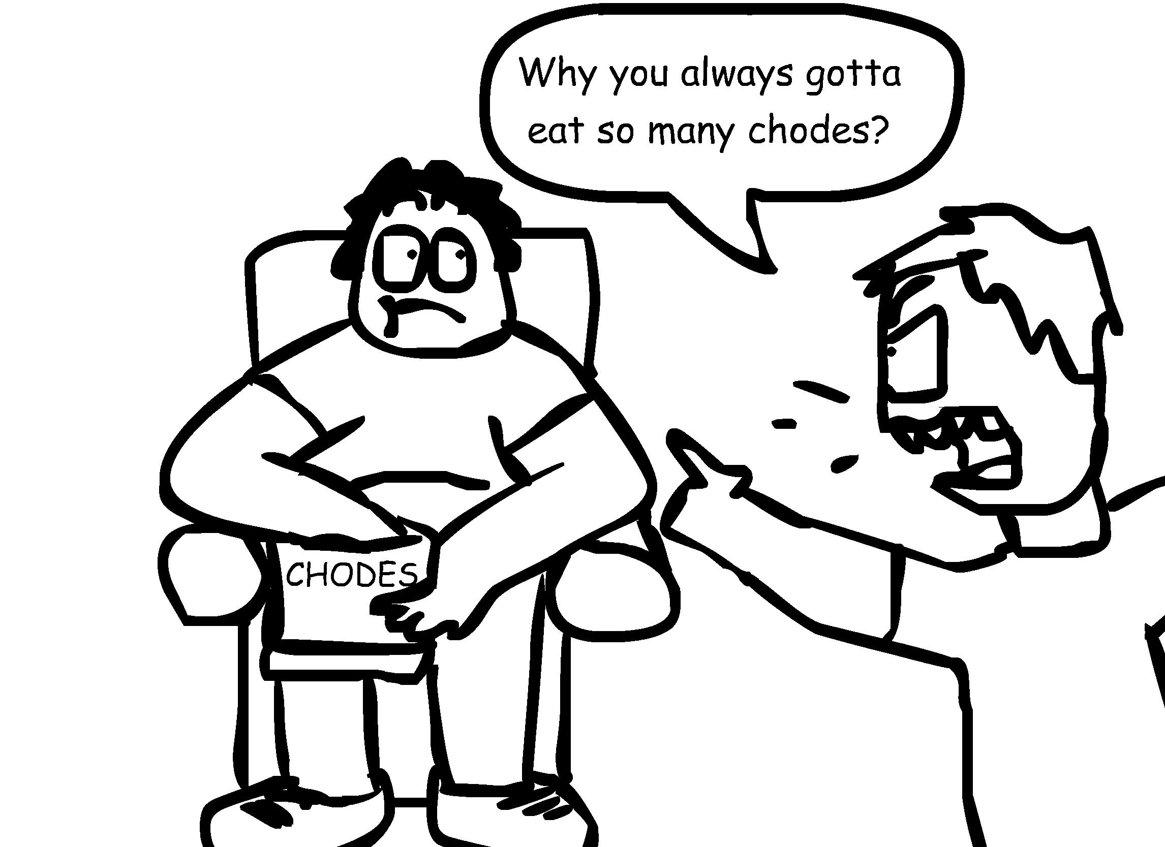 Chodes