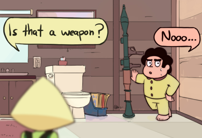 Steven Universe: Is that a weapon?