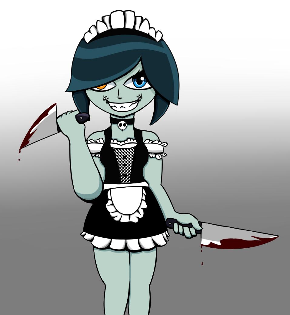 Halloween Maid