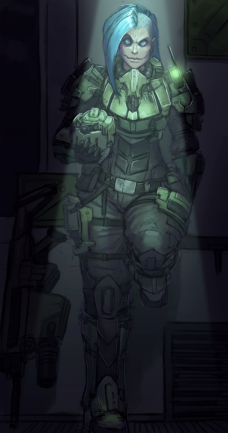 Sariah battle armour