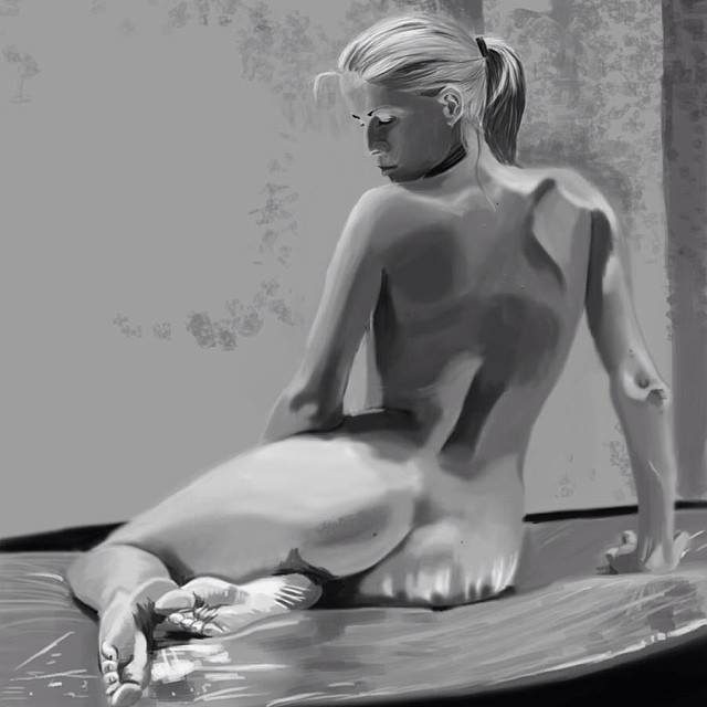 Nude model study