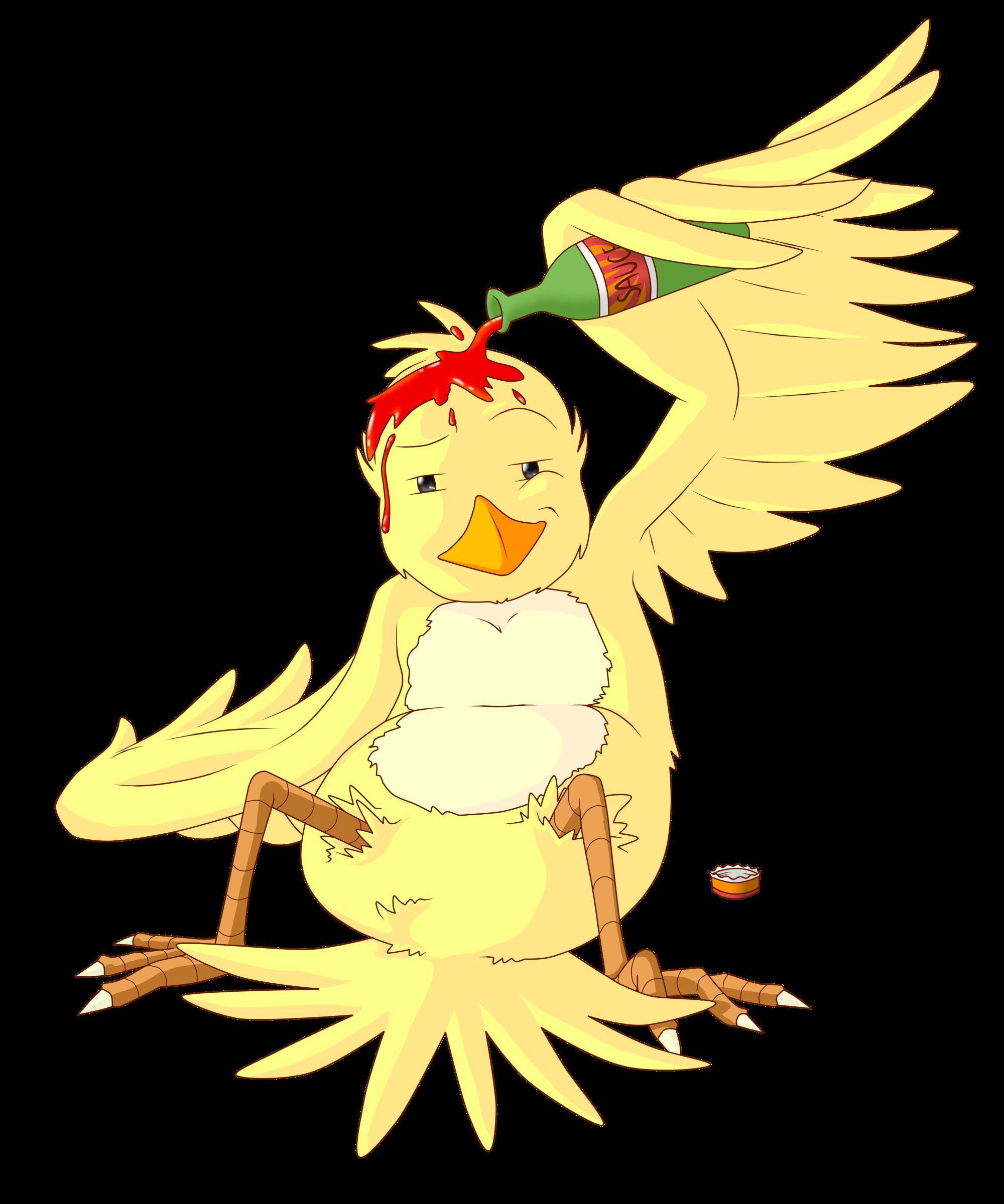 Request : saucybird 's OC 'Bird of the Sauce'