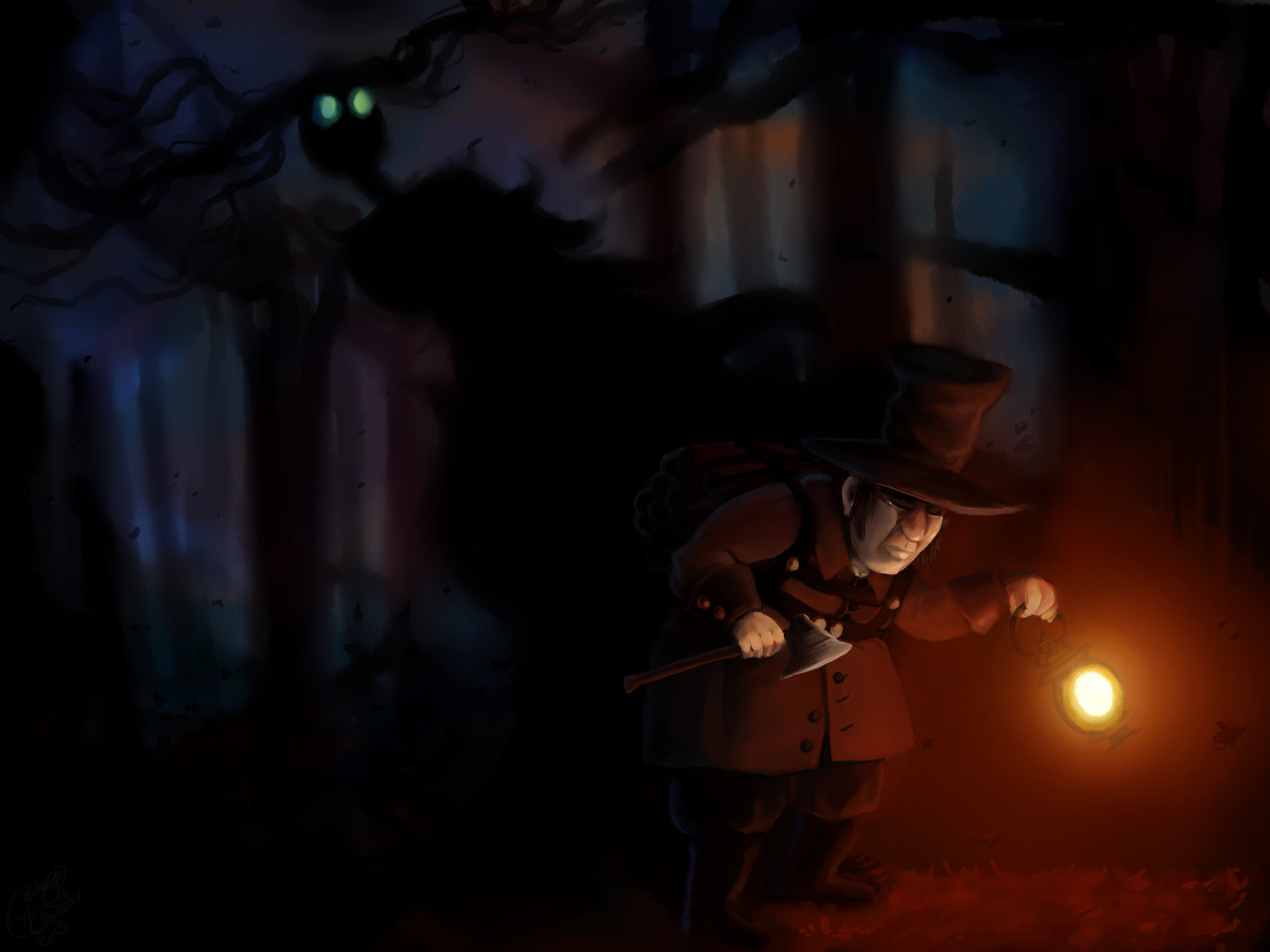 Woodman and the Beast