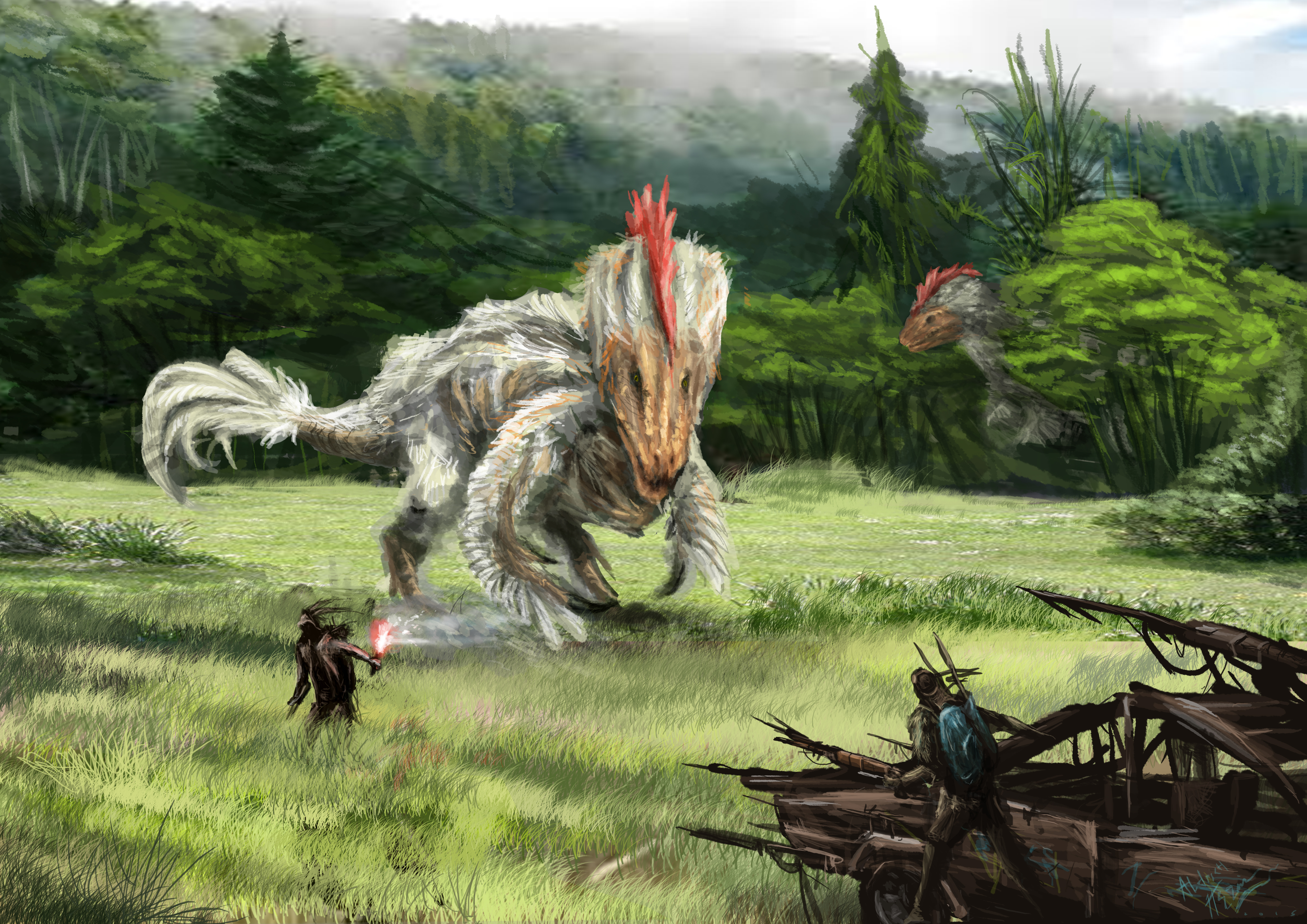 chicken-saurus rex