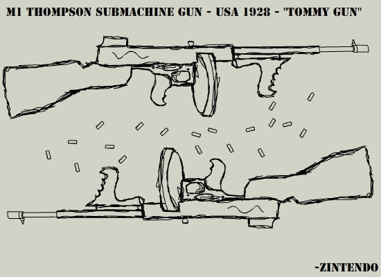 "M1928 ""Tommy Gun"""
