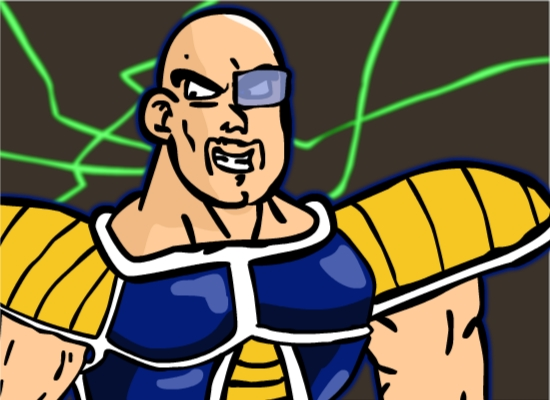 Nappa The Bald Muscle