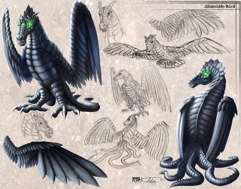 Shantak Bird Concept