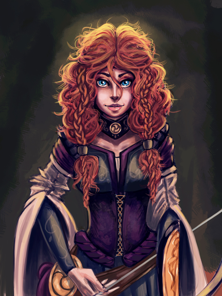 I am Merida, Queen of Clan Dunbroch!
