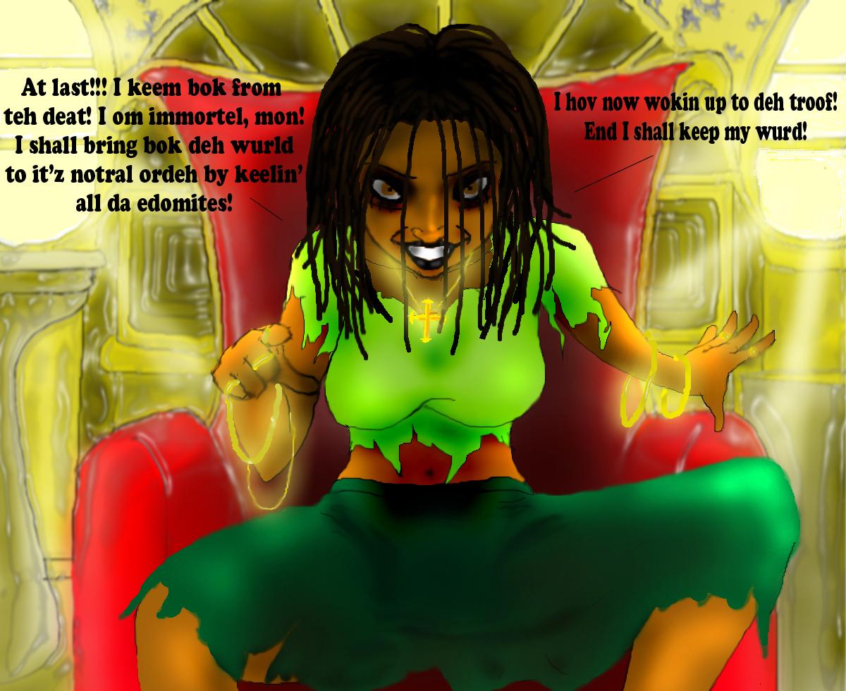 Tauni (The Jamaican avenger)