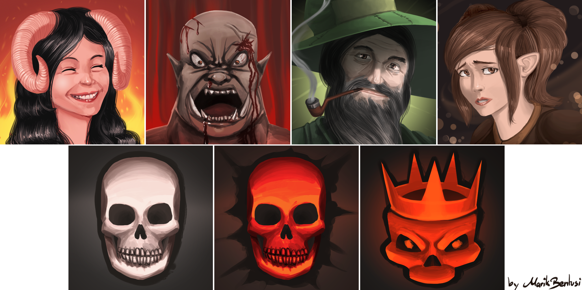 West Marches Character Tokens