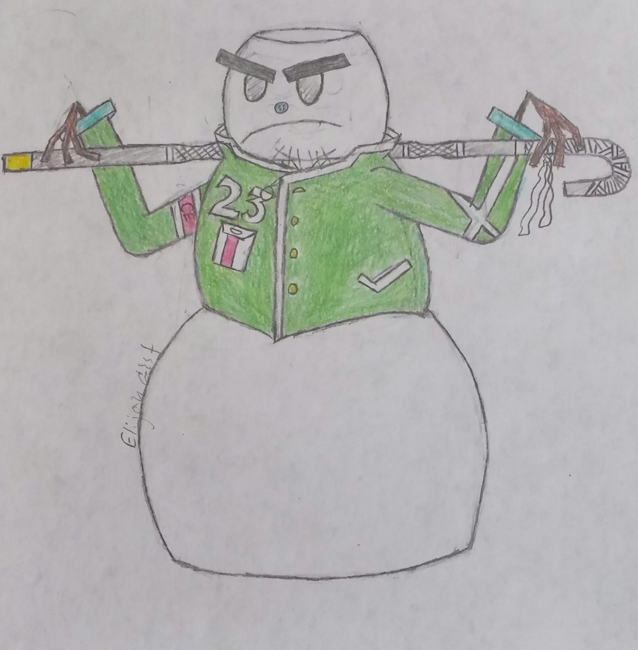 Mr.23 (the snowman)