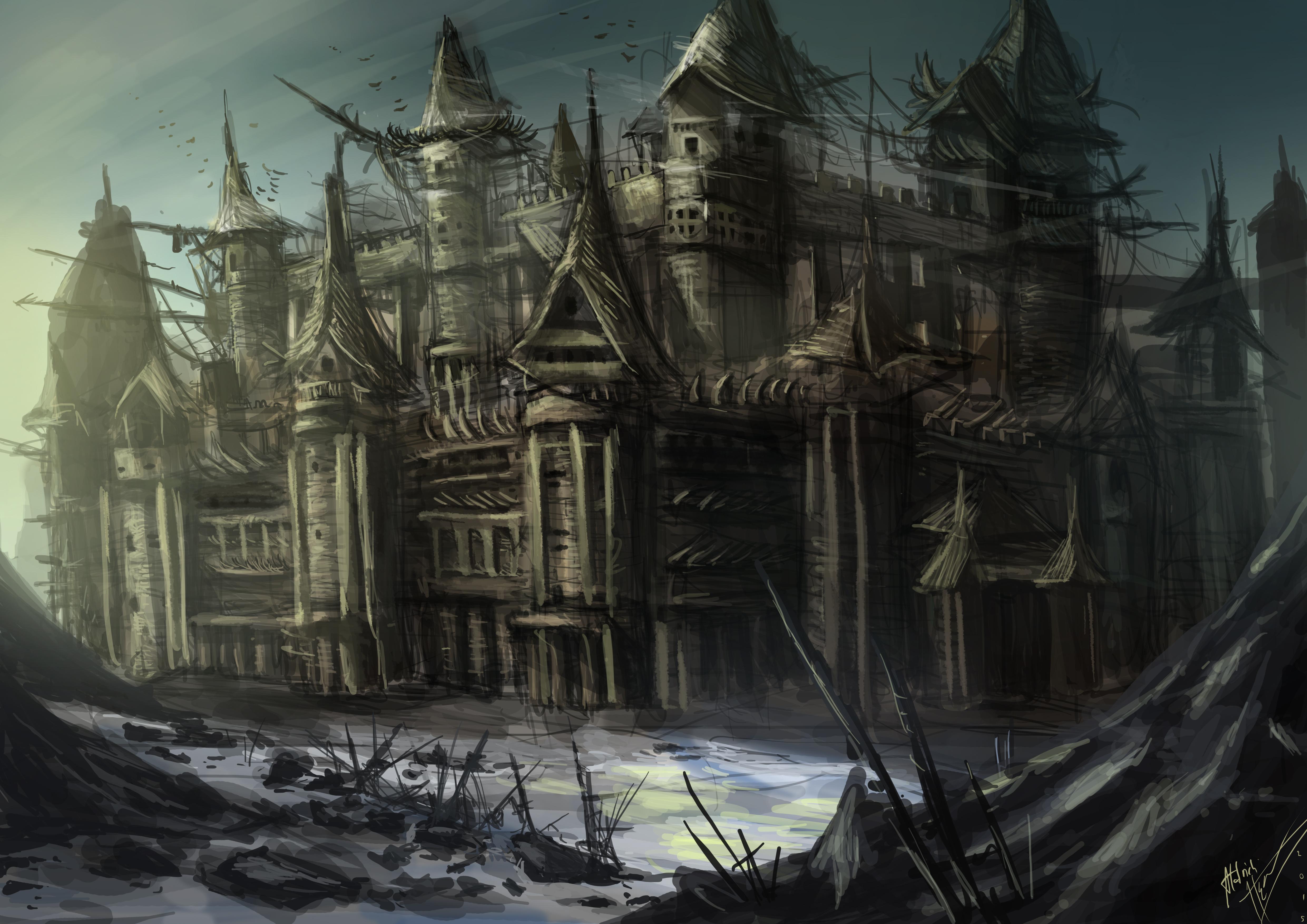 random European castle