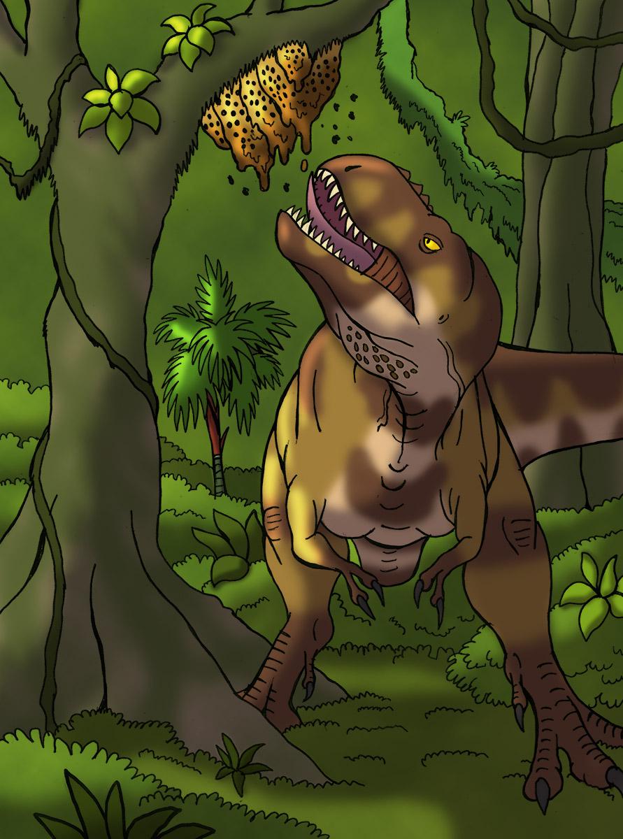 Treat for Tarbosaurus