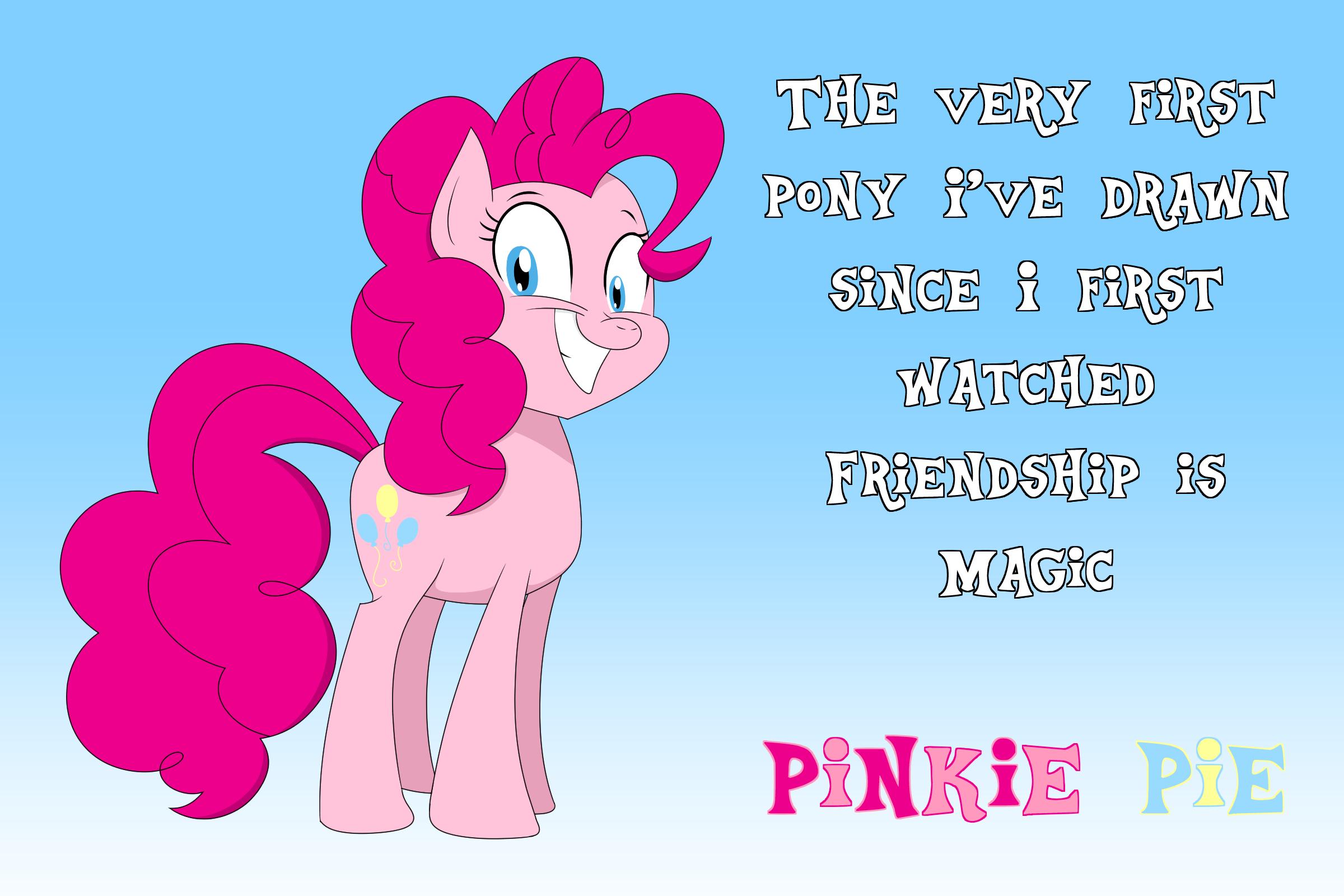 First Pony I Ever Drew