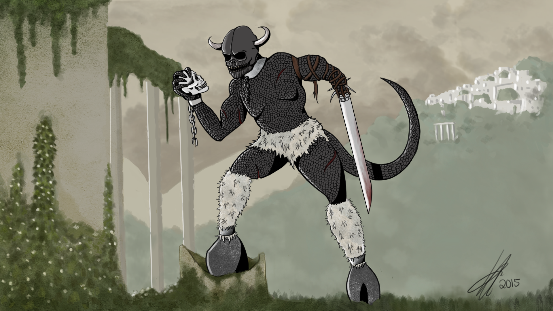 The Gruesome Grimataur