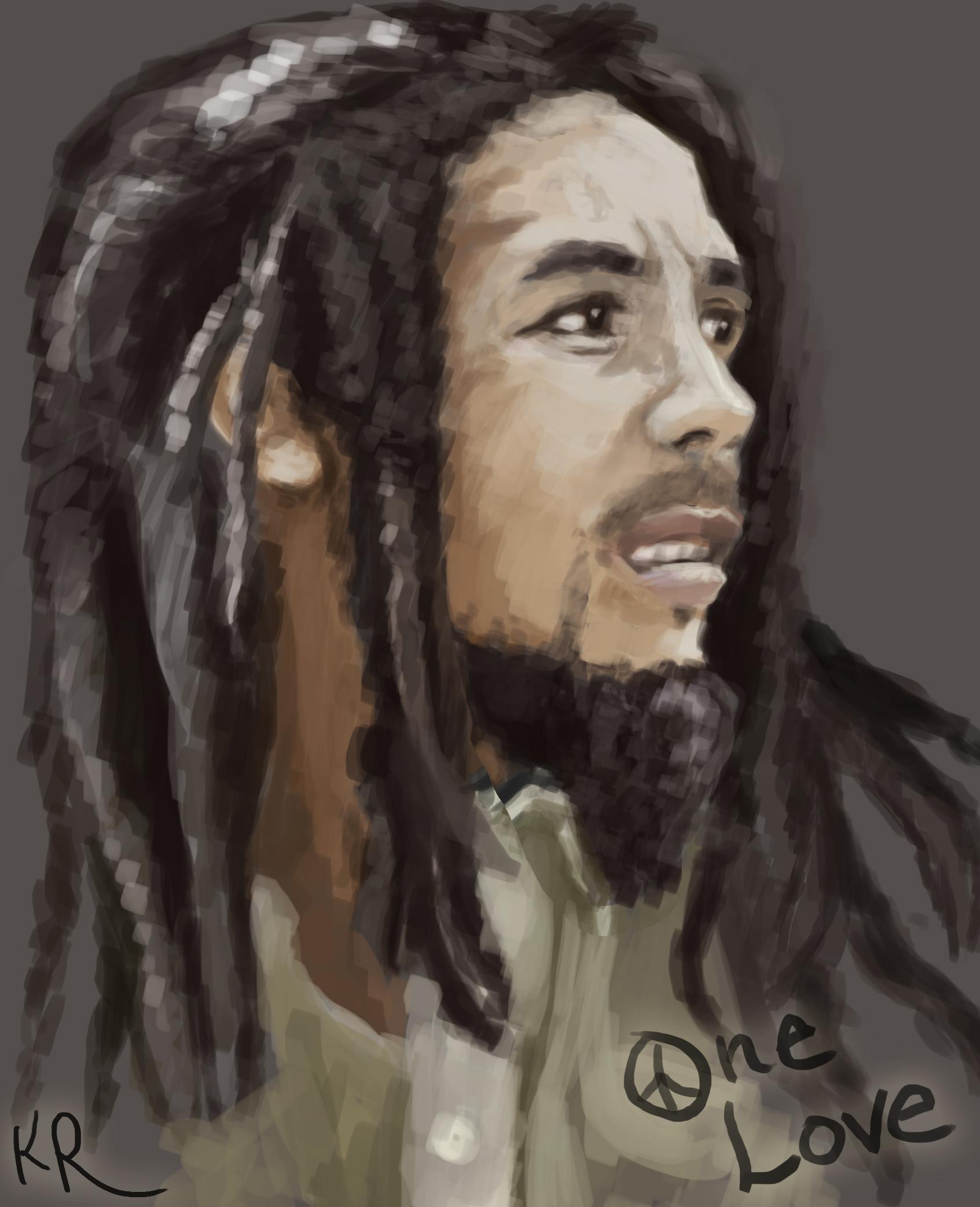 Bob Marley Rough