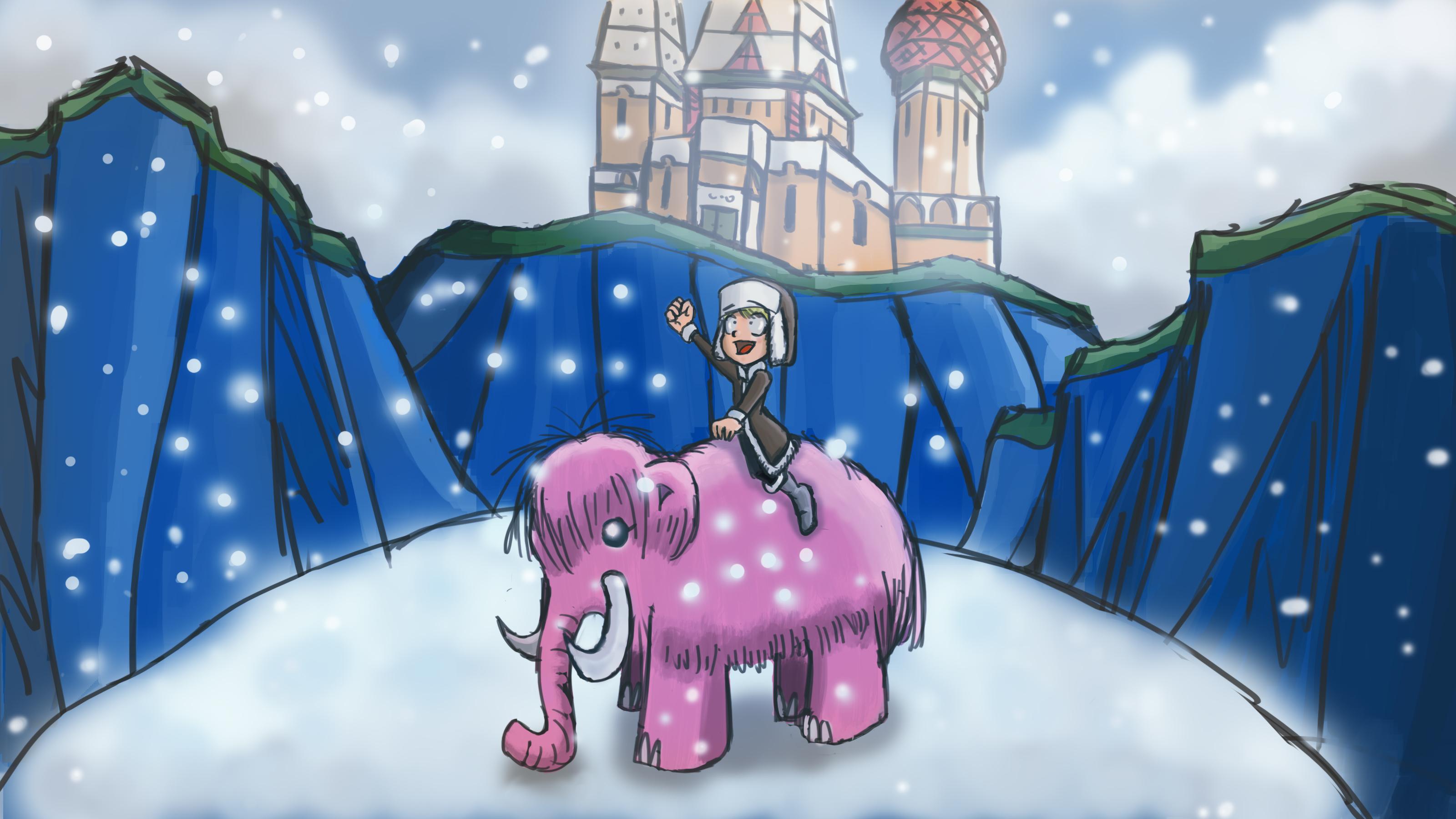 141_ Li'l' Mammoth Rider