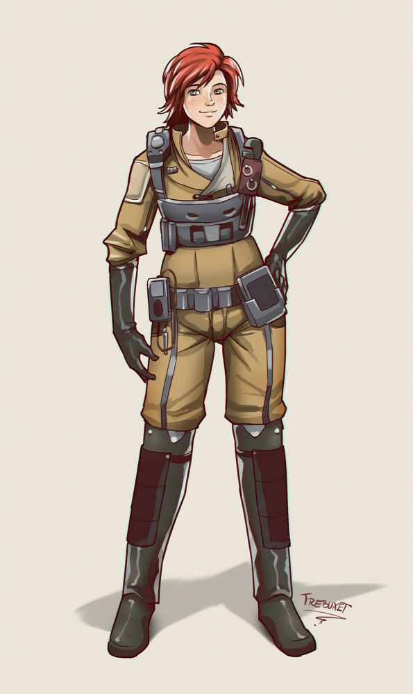 Ren - Character Design
