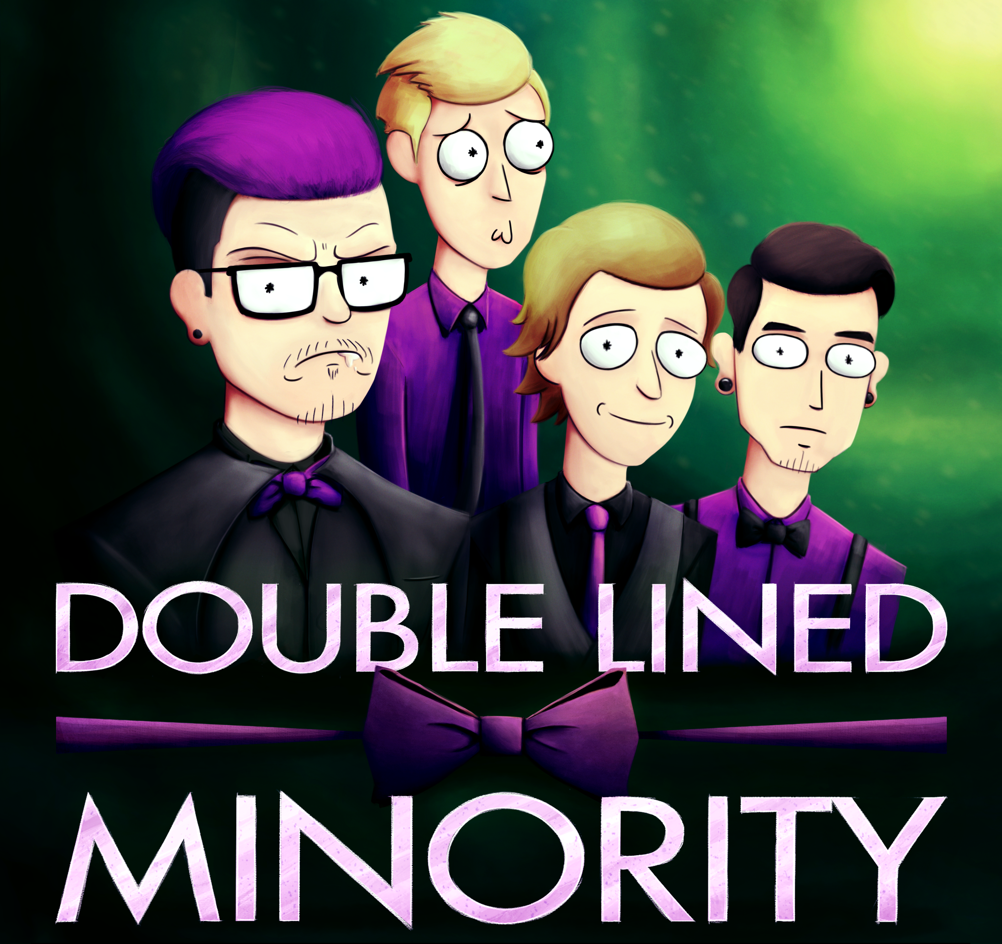 RICK and MORTY x DOUBLE LINED MINORITY