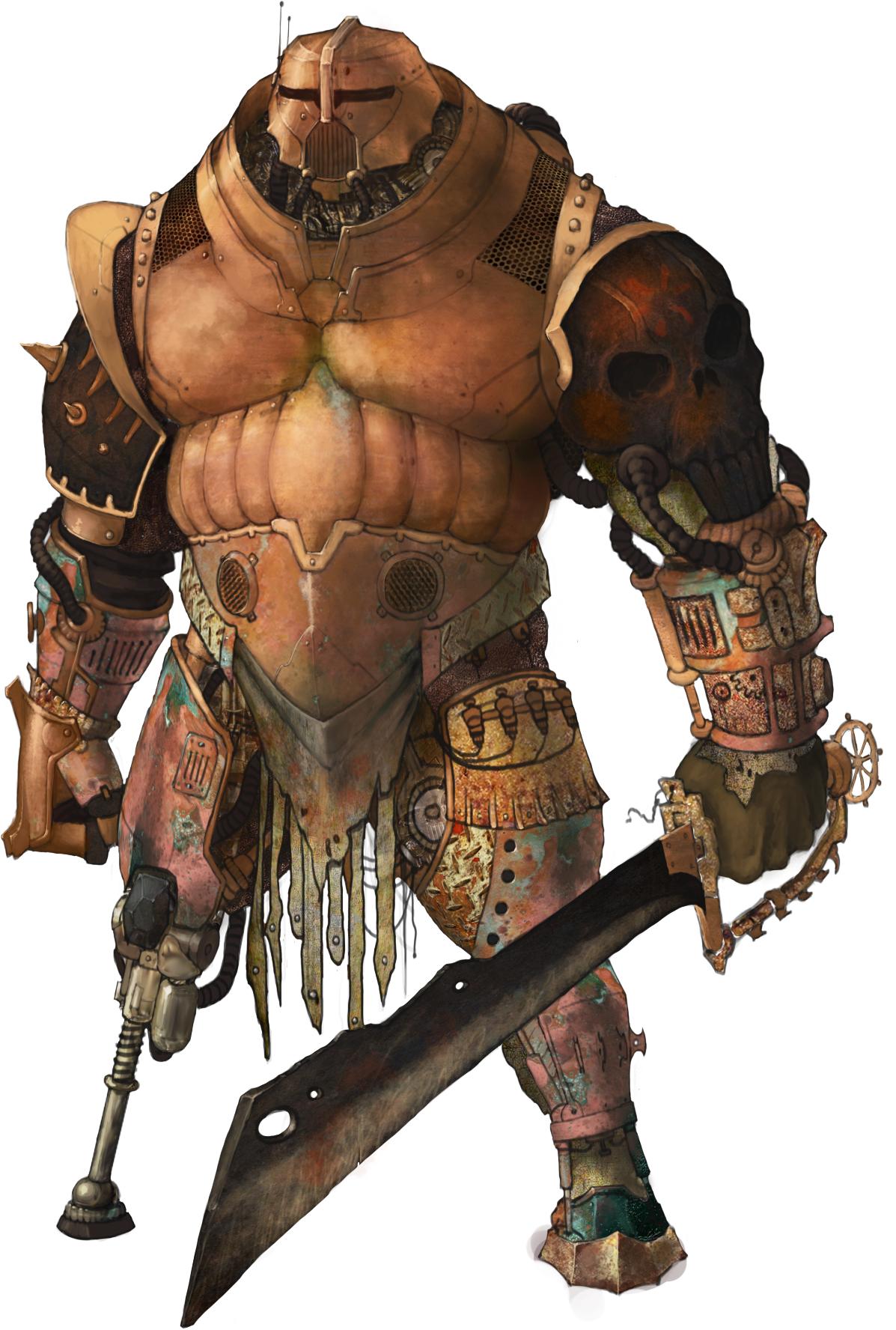Scrap Exoskeleton