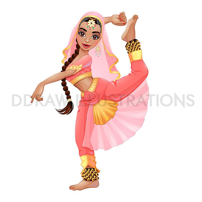 Indian dancer #1