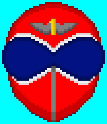Akaranger Pixel Art