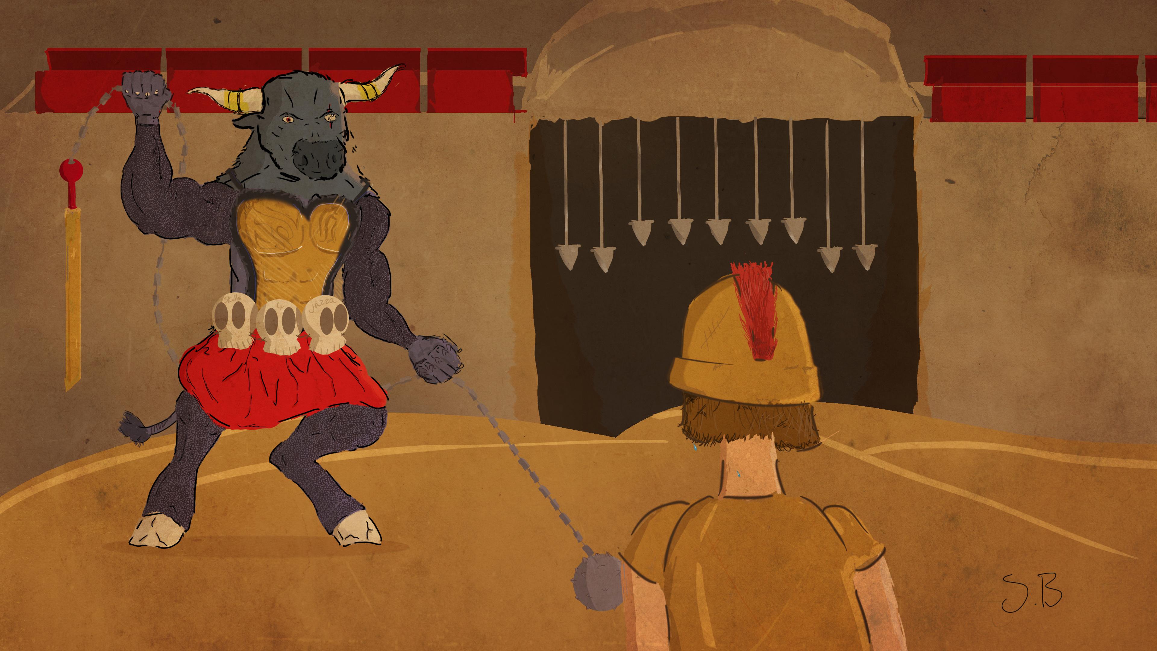 Gladiator Grimatuar