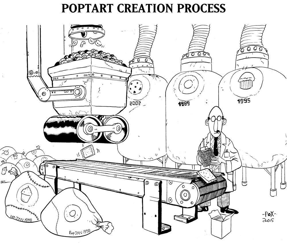 Pop Tart Creation Process