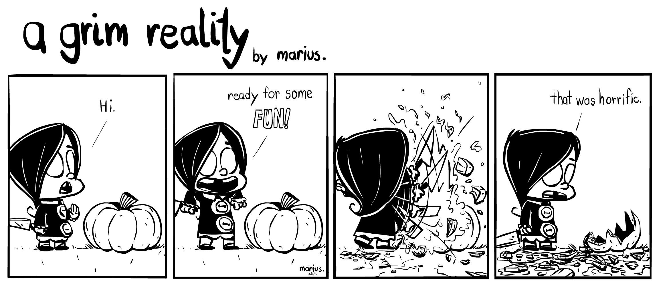 """a grim reality..."" 10-21"
