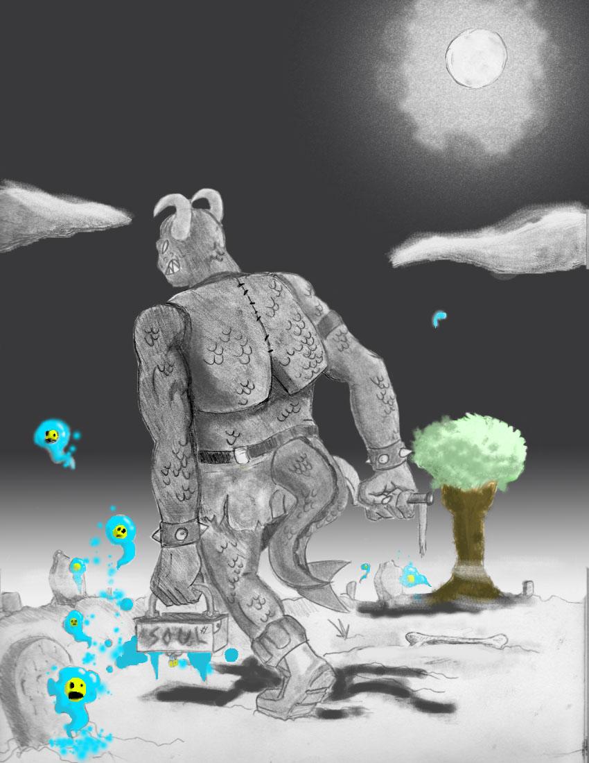 The Graveyard Grimataur