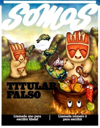 ''Somos'' Magazine-Cover (Peruvian Gastronomy)