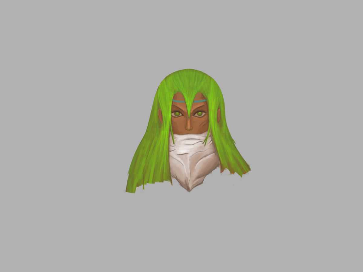 Arieya - Character face - Finalised