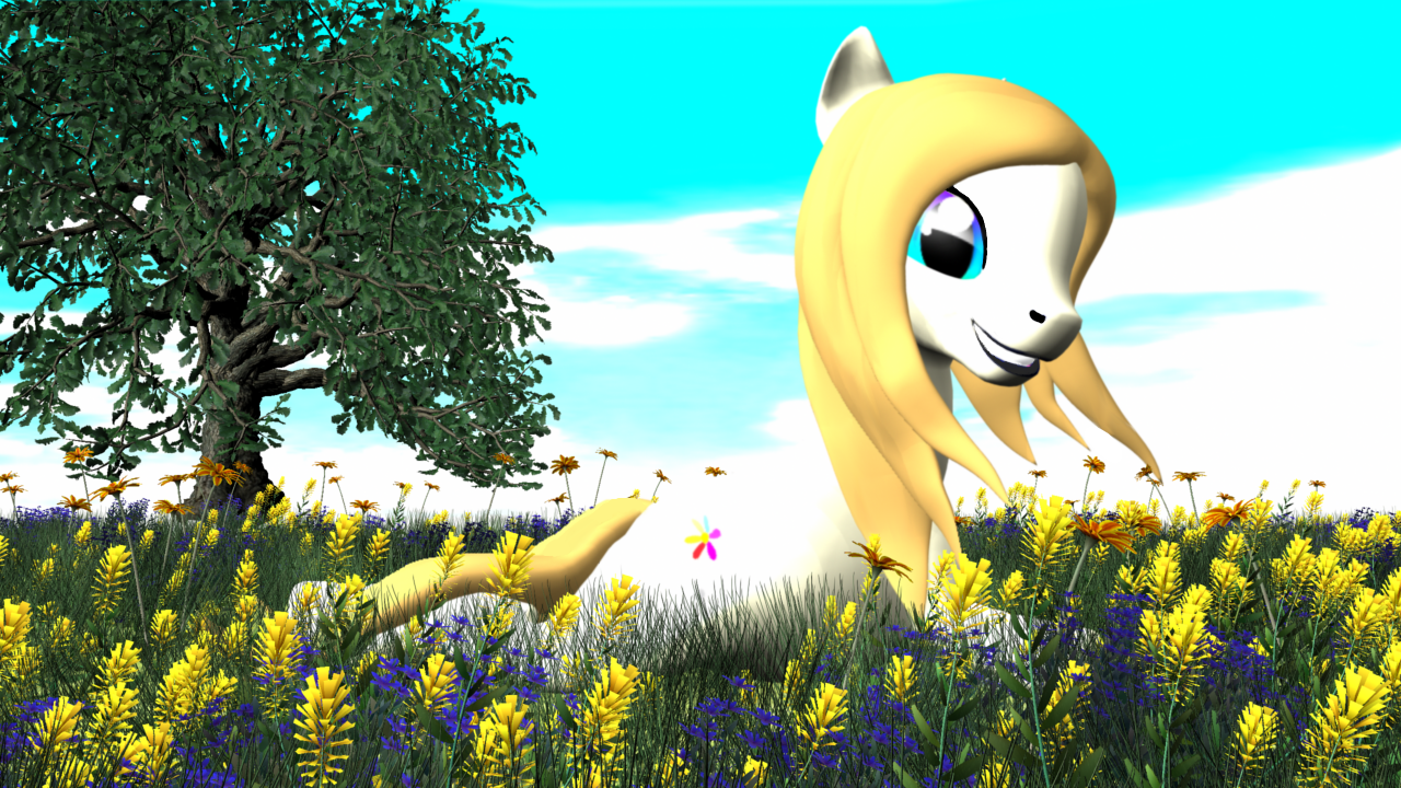 Passion Fruit OC MLP Render 3D