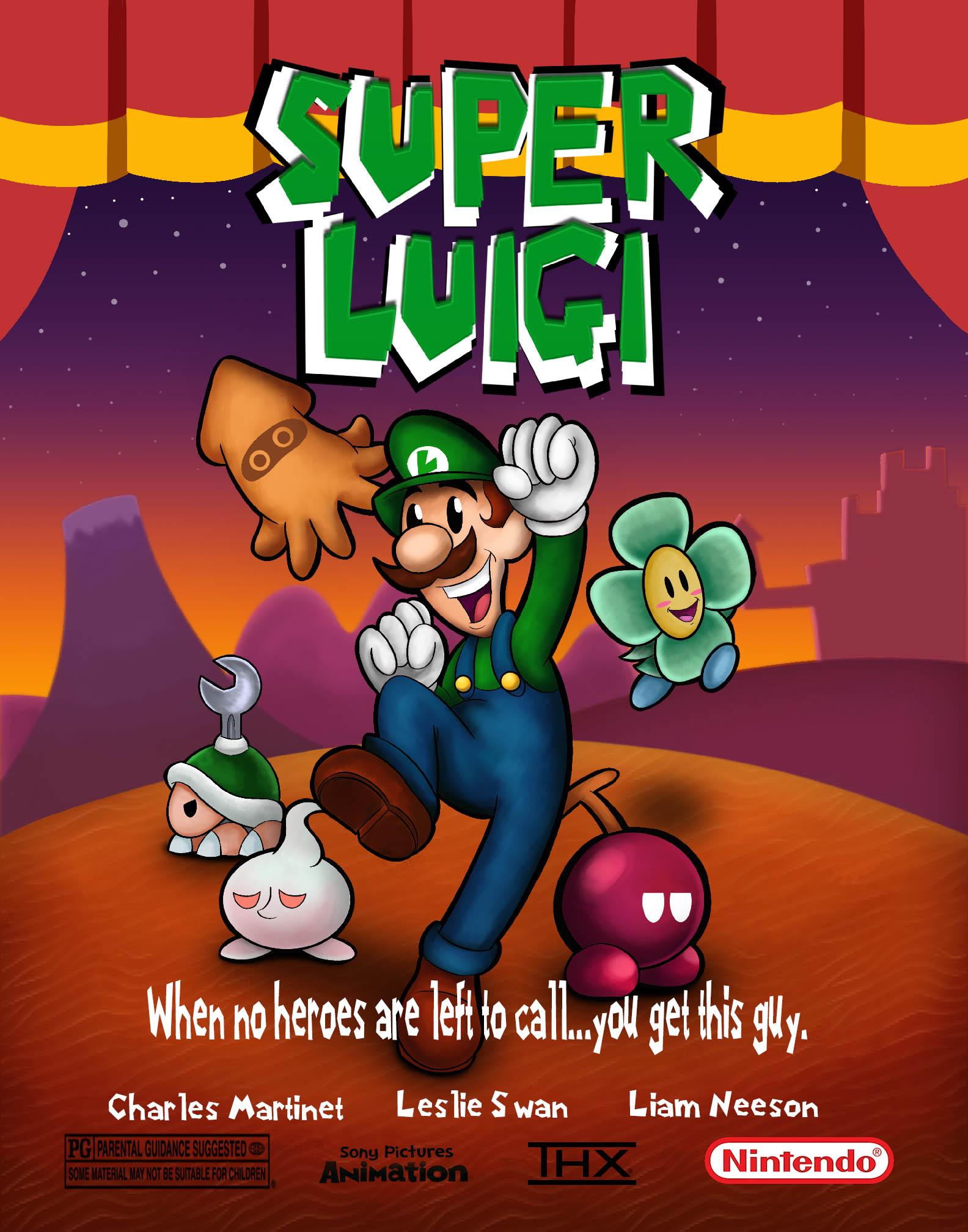 Super Luigi Movie Poster (Edited)