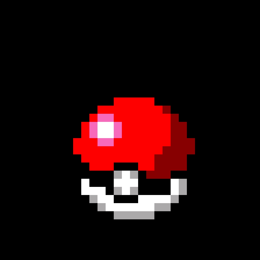 8-bit Pokeball