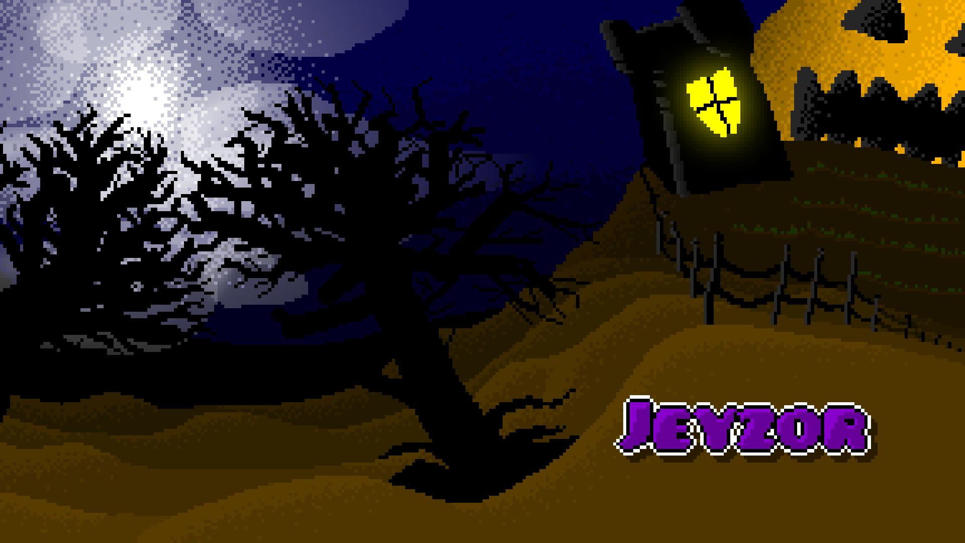 Halloween pixel art [wallpaper] by Jeyzor on Newgrounds