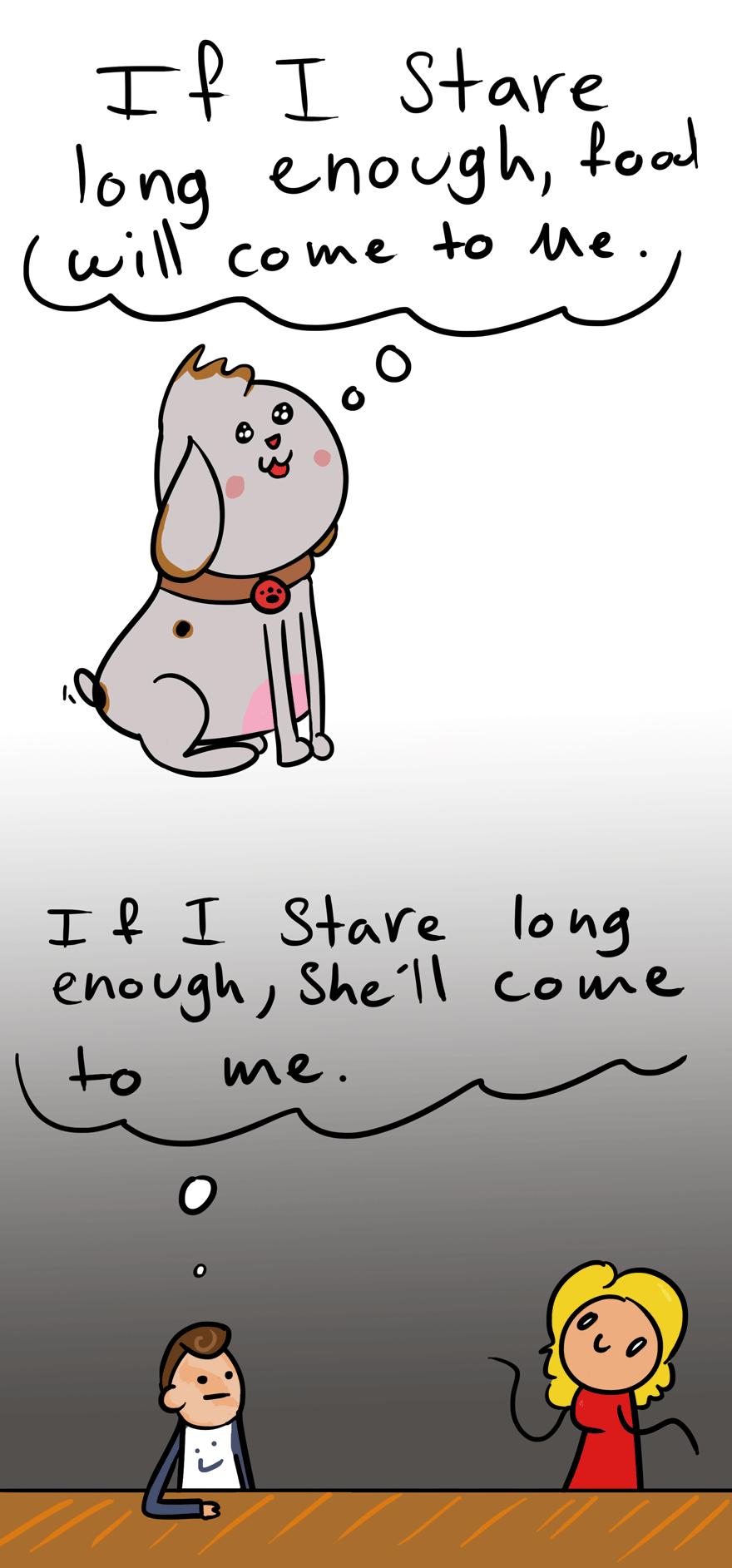 Dogs vs men (comic)