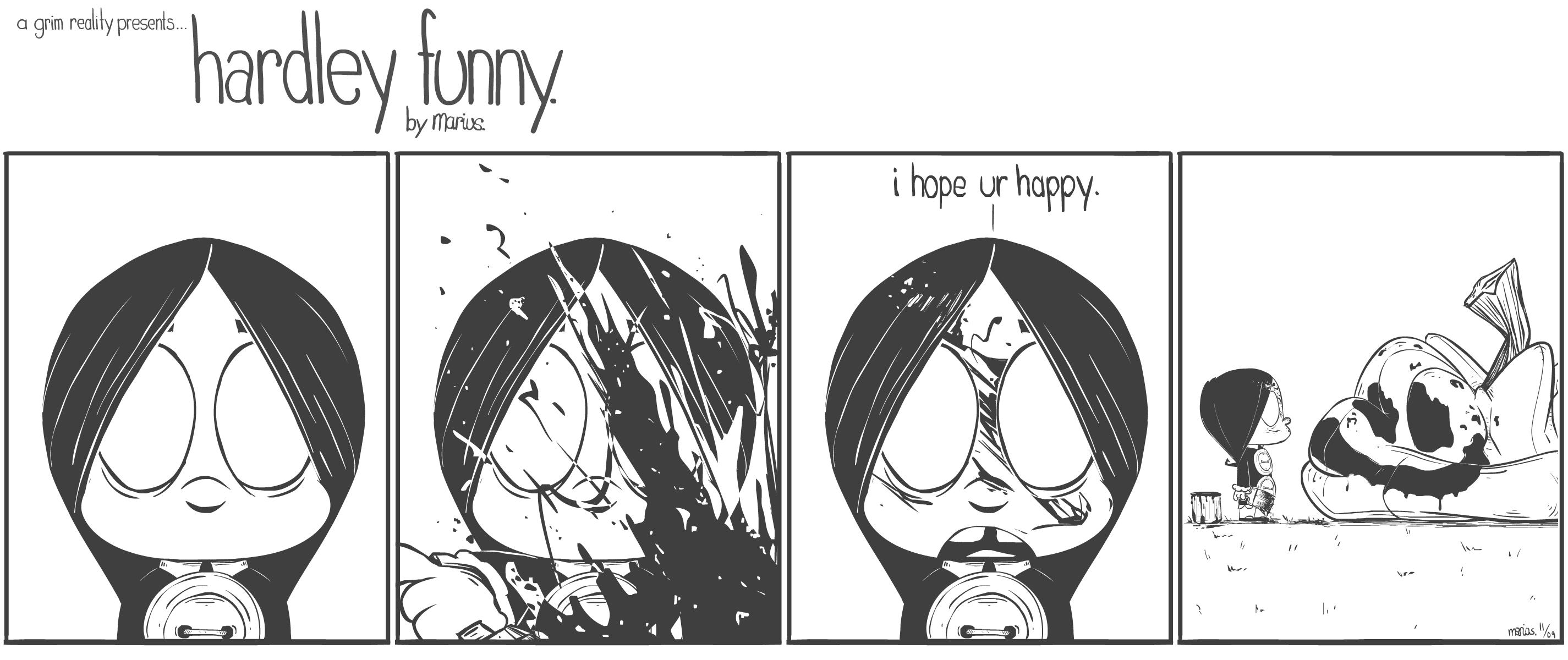 """""""hardley funny"""" 11-09"""