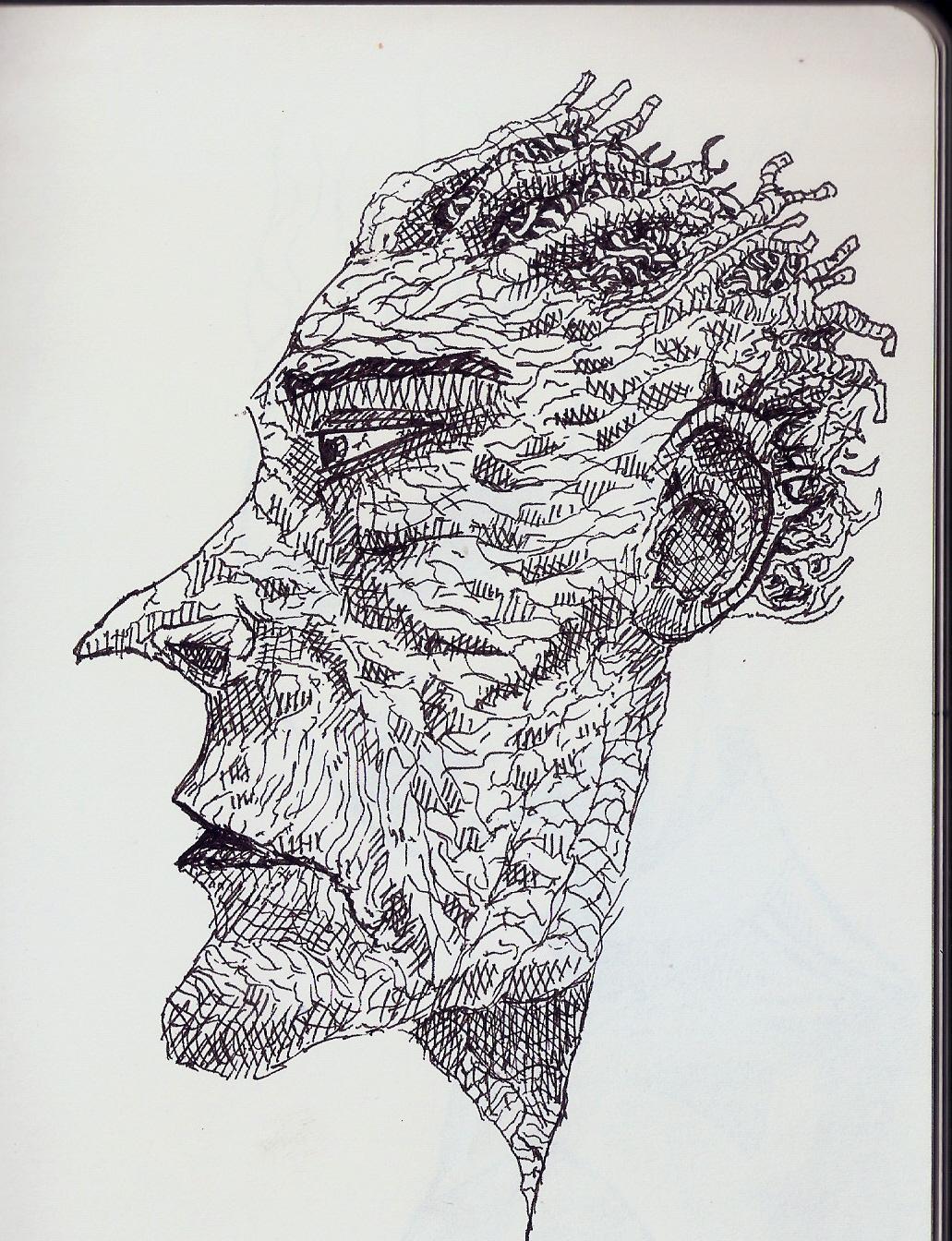 cofee shiop doodle 6