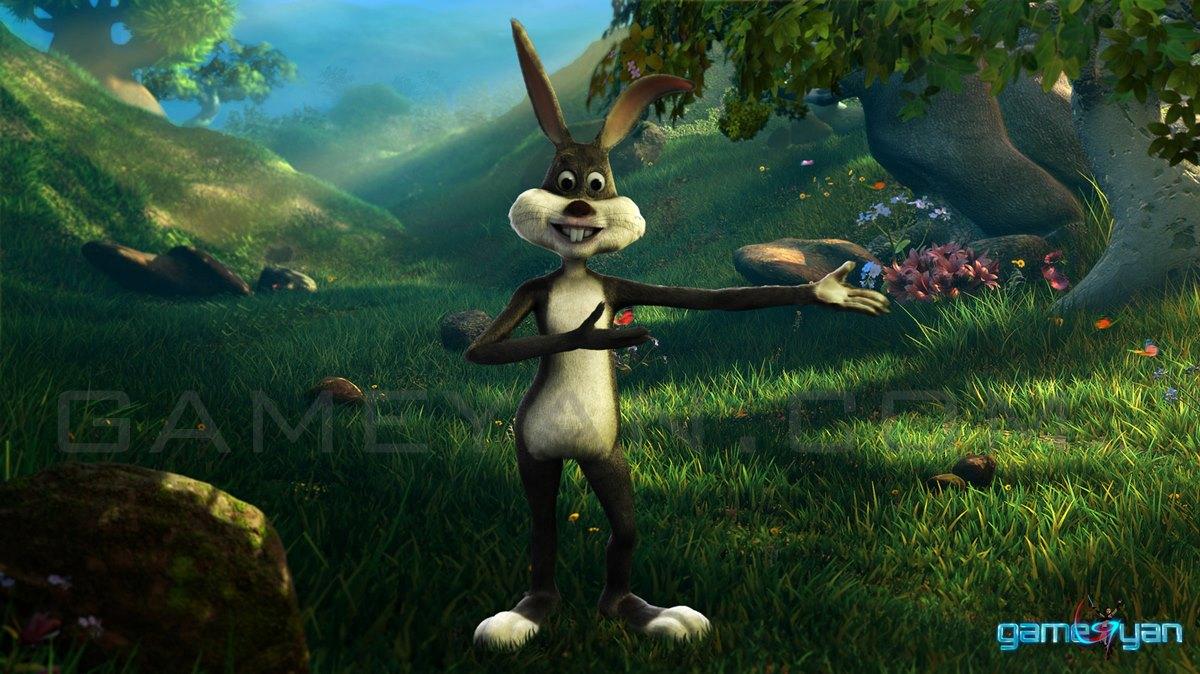 Bunny Cartoon Character Modeling