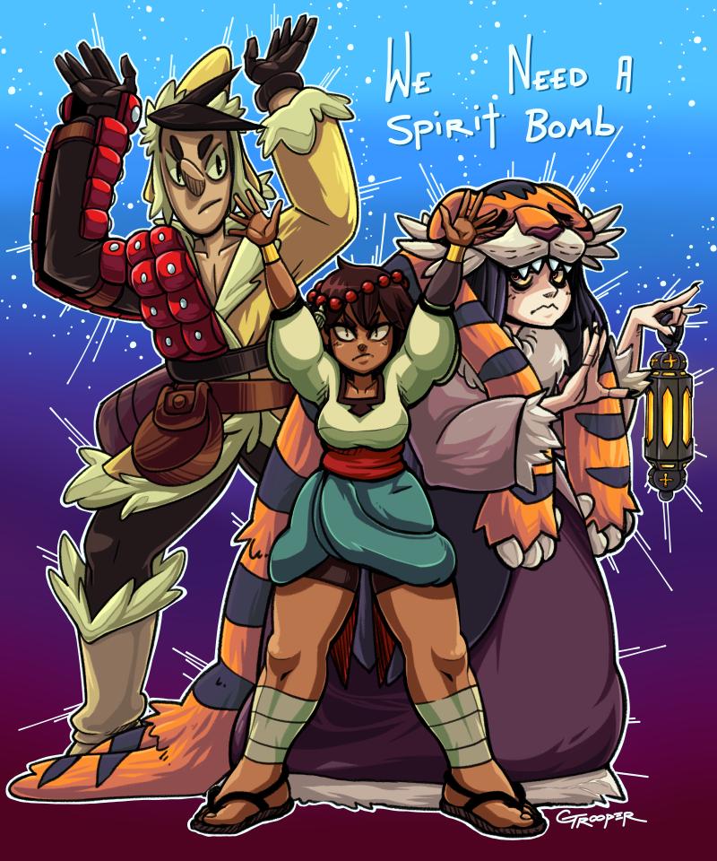 We need a Spirit Bomb