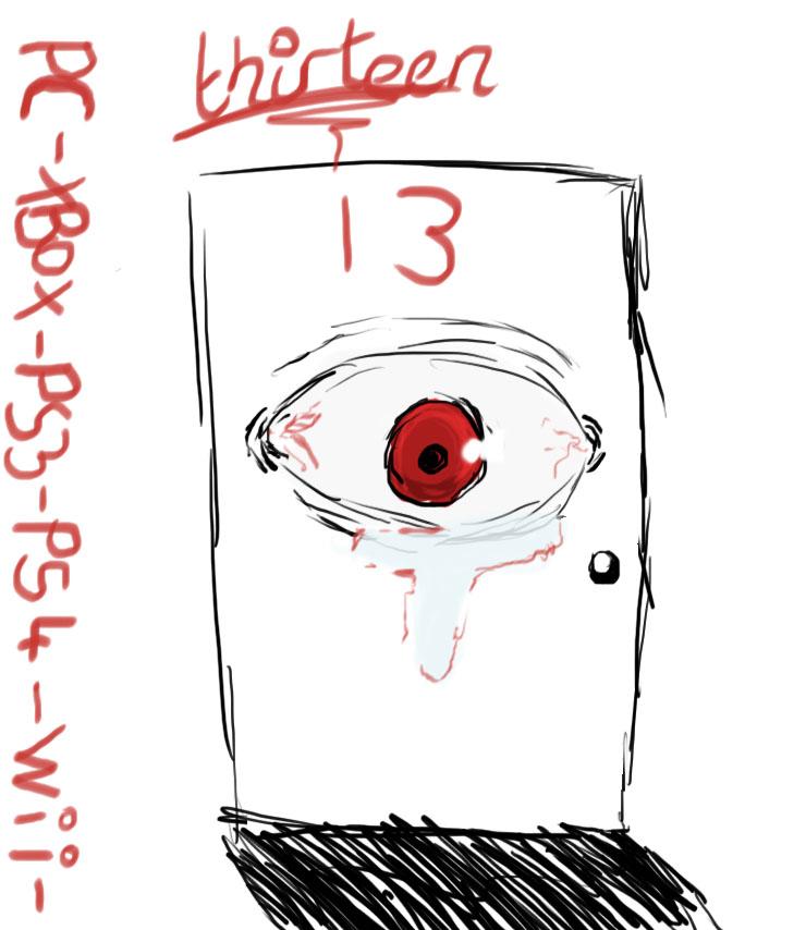 '13' Game Logo