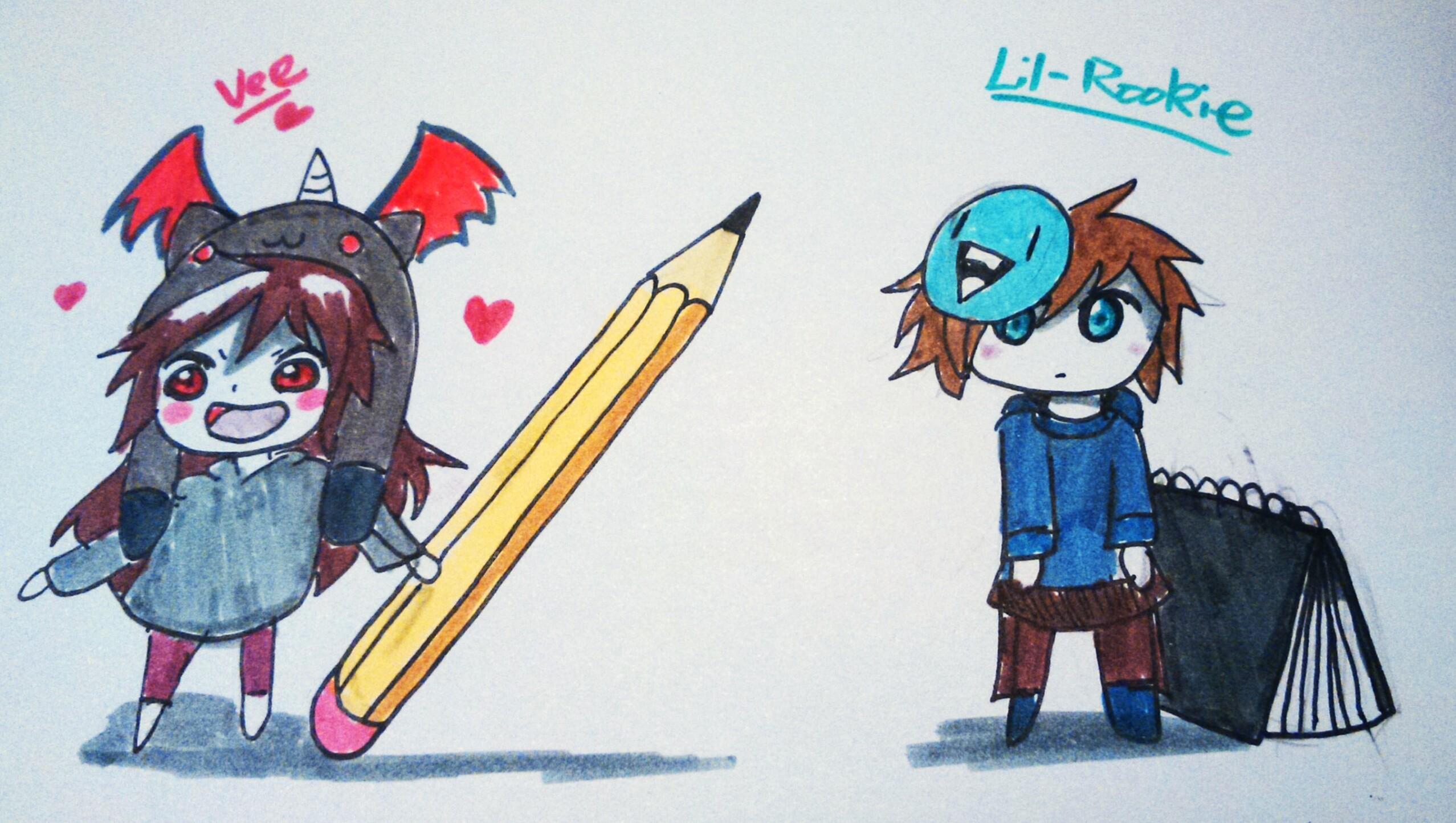 Vee+Lil-Rookie Umarus