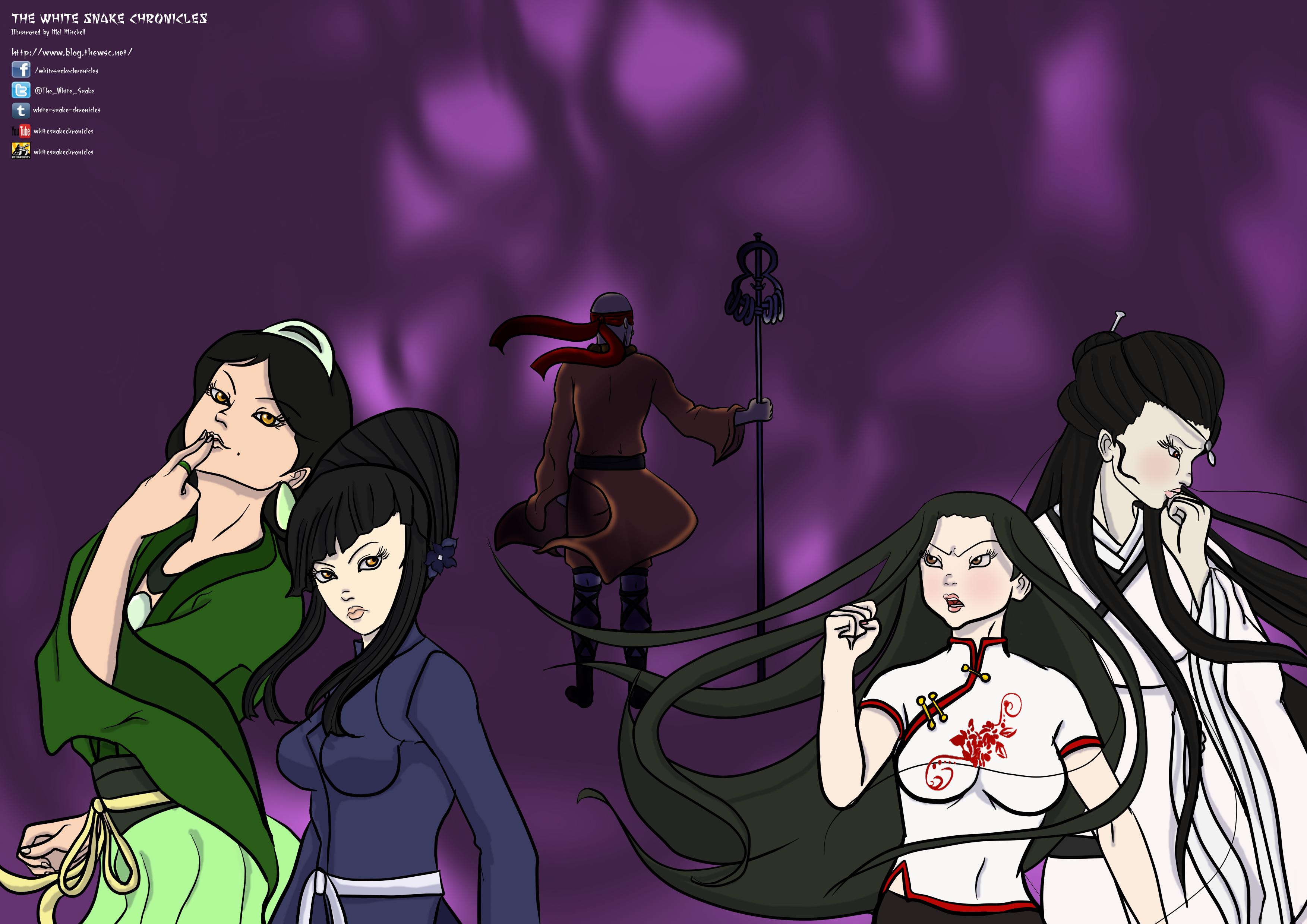 The White Snake Chronicles Promo Art #3