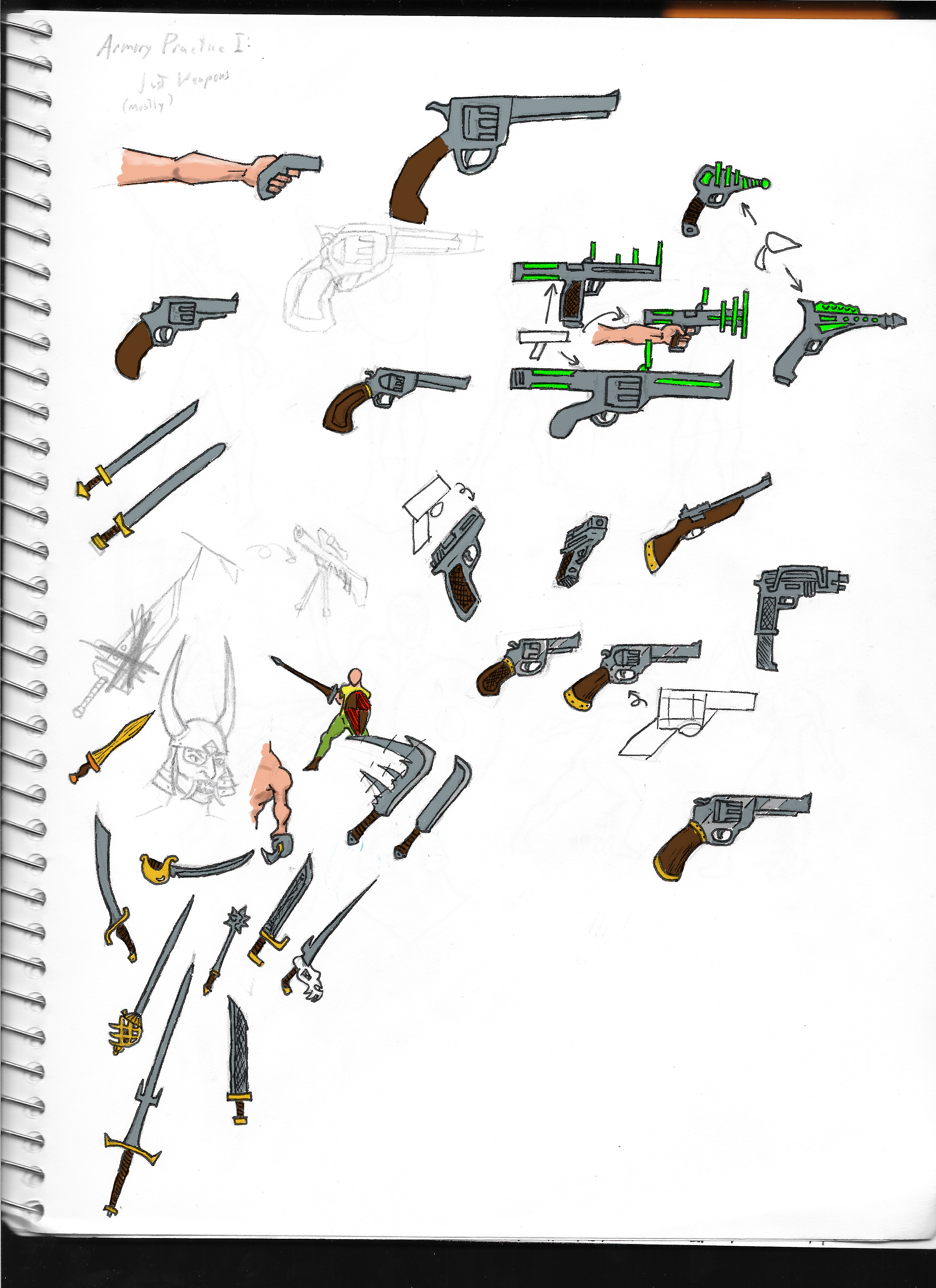 Practice: Armory 1 - Weapons