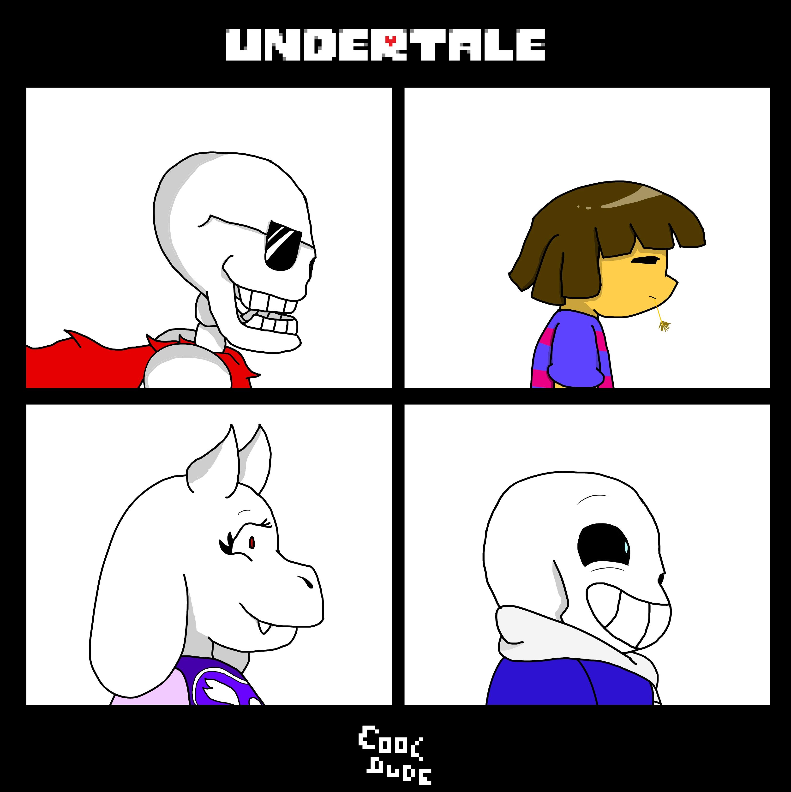 Undertale/Gorillaz crossover