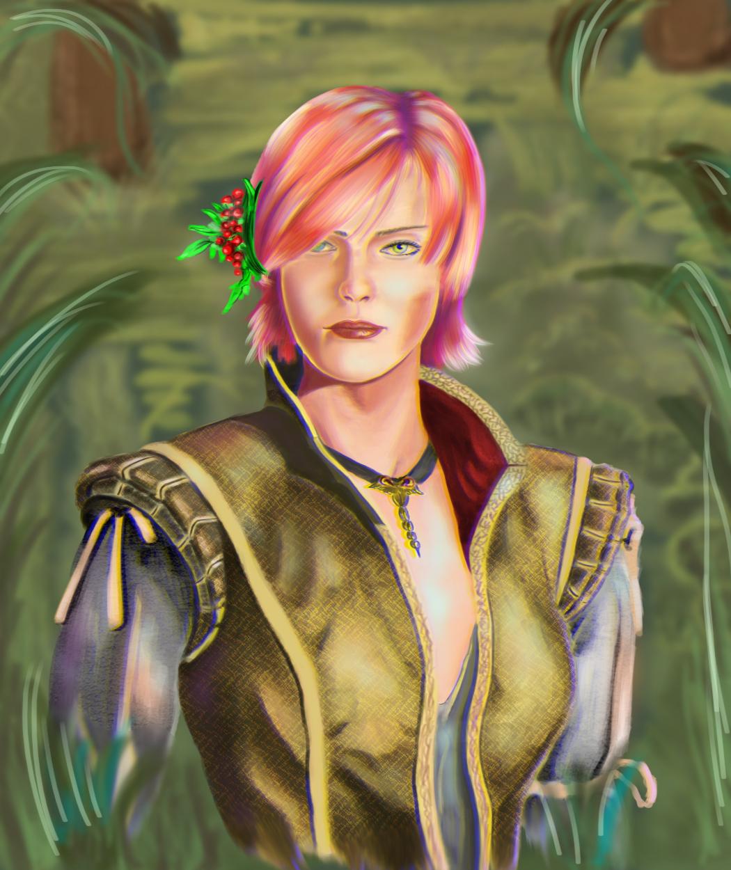 Shani FanArt - Witcher 3